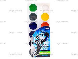 Краски акварельные Max Steel, 12 цветов, MX14-061K, отзывы