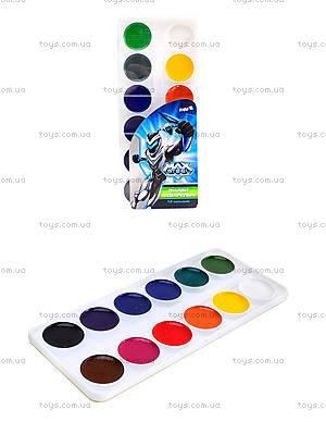 Краски акварельные Max Steel, 12 цветов, MX14-061K