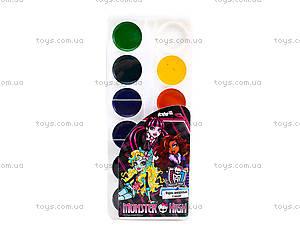 Краски акварельные Monster High, 12 цветов, MH14-061K, фото