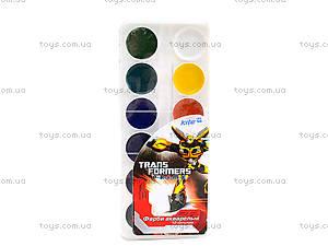 Краски акварельные Transformers, 12 цветов, TF13-061K, отзывы