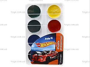 Краски акварельные для рисования Hot Wheels, HW14-060K, фото