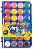 Краски акварельные с кисточкой 28 цветов Colorino, 67317PTR, тойс ком юа