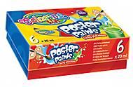 Краски гуашь «Стандартные цвета» 6 цветов Colorino, 13178PTR, toys
