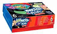 Краски гуашевые светящиеся 6 цветов Colorino, 42635PTR, интернет магазин22 игрушки Украина