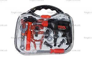 Красно-черный набор инструментов в чемодане, T106K