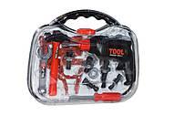 Красно-черный набор инструментов в чемодане, T106K, отзывы