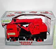 Красный автокран Middle truck, 39487, купить