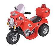 Красный электромобиль мотоцикл, T-723 RED