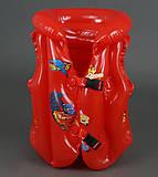 Красный жилет с тачками, 779-694, фото