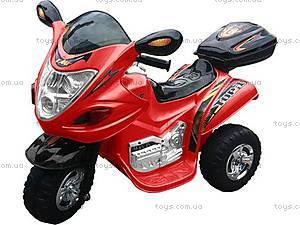 Красный мотоцикл с электродвигателем, M-002