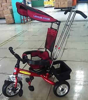 Красный трехколесный велосипед, LT-2011 RED