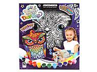 """Креативное творчество """"My Color Owl-Bag"""" рюкзачок-сова , COWL-01-01, отзывы"""