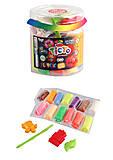 Набор для лепки «Fluoric» 13 цветов , TMD-FL-12-01, фото