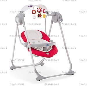 Кресло-качалка Polly Swing Up, красное, 79110.71