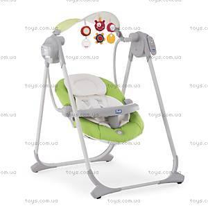 Кресло-качалка Polly Swing Up, зеленое, 79110.51