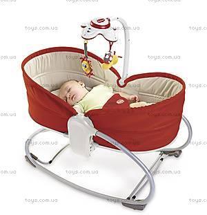 Кресло-люлька «Мамина любовь», красное, 1801006830, фото