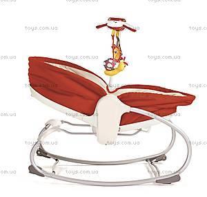 Кресло-люлька «Мамина любовь», красное, 1801006830, toys