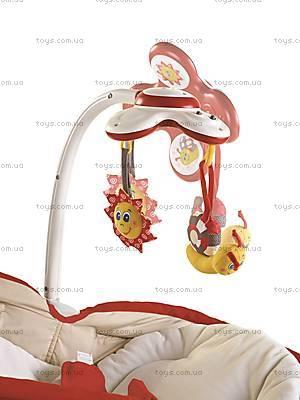 Кресло-люлька «Мамина любовь», красное, 1801006830
