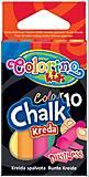 Набор разноцветных мелков безпылевые 10 цветов, 33152PTR, тойс ком юа