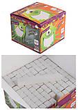 Мелки для рисования белые 100 шт, ZB.6719-12, игрушка