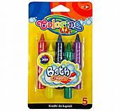Мелки для рисования в ванне в наборе 5 цветов COLORINO, 67300PTR, купить