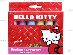 Мел цветной Hello Kitty, 6 цветов, HK13-073K, игрушки