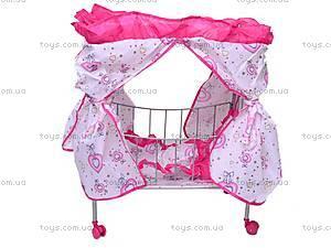 Кровать для куклы, с балдахином, 9350 (HT), отзывы