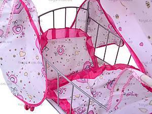Кровать для куклы, с балдахином, 9350 (HT), цена