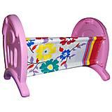 Кроватка для куклы «Анюта», 5019, отзывы