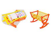 Кроватка «Анюта», 5053, toys