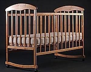 Кроватка детская, ольха,