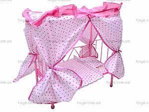 Кроватка для куклы , 6868-2