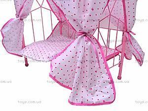 Кроватка для куклы , 6868-2, детские игрушки