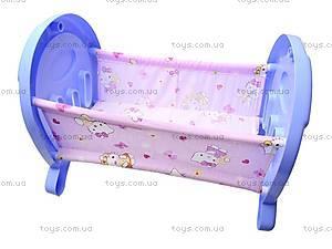 Кроватка для кукол «Анюта», 5019, цена