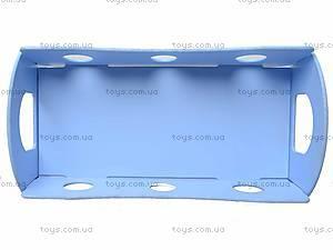 Кроватка для кукол, голубая, К055, купить