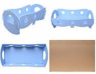 Кроватка для кукол, голубая, К055, отзывы