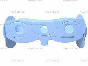 Кроватка для кукол, голубая, К055, цена