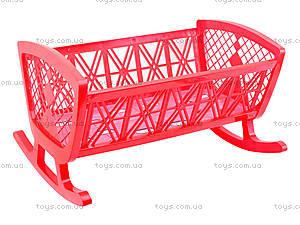 Игрушечная кровать для кукол, MG-071, toys.com.ua