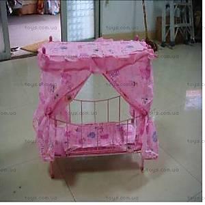 Кроватка для кукол с балдахином, 9350L