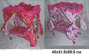 Кроватка для кукол с балдахином MELOGO, 9350