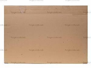 Деревянная кроватка для кукол, зеленая, К056, купить