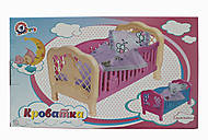 Кроватка для куколок, 4 4, купить