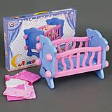 Кроватка кукольная, 4166