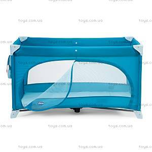 Кроватка-манеж Easy Sleep, синий, 79087.42, купить