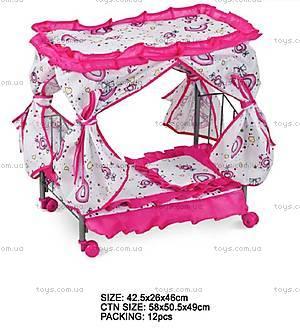 Кроватка на колесиках, FL992