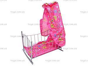 Кроватка, с балдахином, 9349 (HT), купить