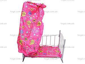 Кроватка, с балдахином, 9349 (HT), цена
