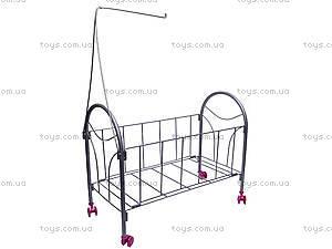 Кроватка с балдахином, для кукол, FL989-4, купить