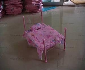 Кроватка с покрывалом, для куклы, 9353L
