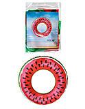 Круг для плавания Tilly Арбуз 60 см., BT-IG-0049, отзывы